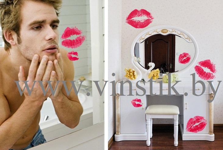"""Наклейка """"Поцелуйчики"""""""